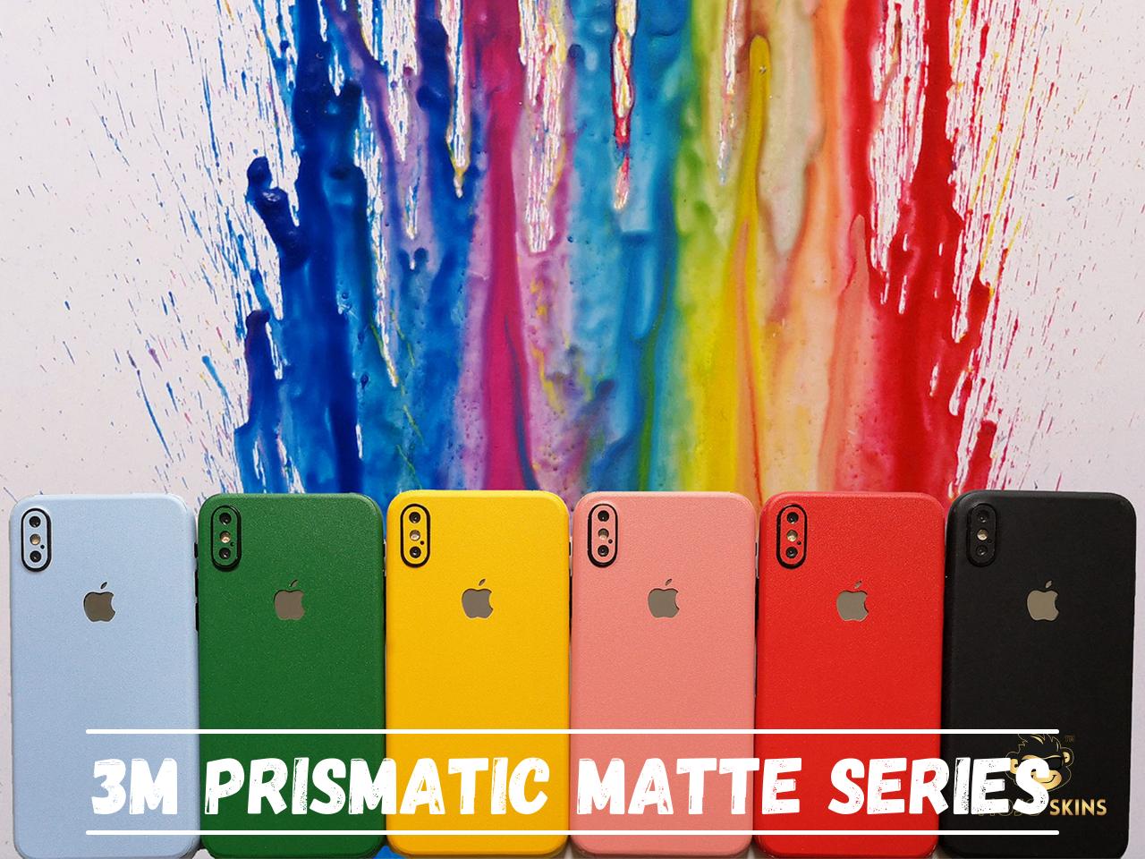 Mojoskins 3M Prismatic Matte Colour Series