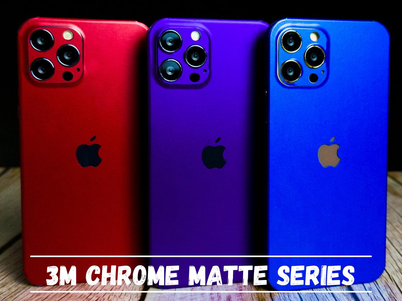Mojoskins 3M Chrome Matte Colour Series