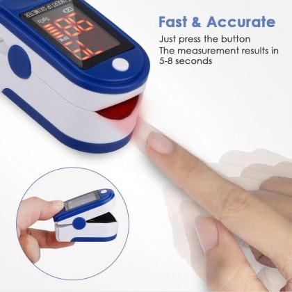 Portable Finger Oximeter Fingertip Pulsoximeter Medical Equipment With Sleep Monitor Heart Rate Spo2 PR Pulse Oximeter